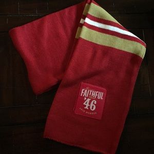 Scarf soccer SF San Francisco 49ers fan gear MLS
